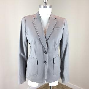Banana Republic S 6 bi stretch Gray blazer